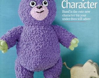 humf toy dk knitting pattern 99p