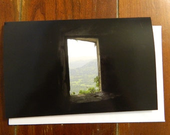 From Inside the Citadel blank greeting card with envelope