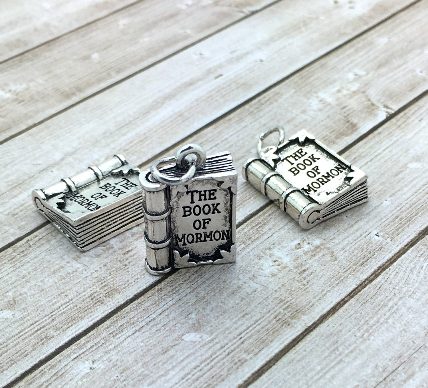 Book of Mormon charms LDS Charms 2017 youth theme silver or