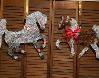 Horse Wreath / Horse Head Wreath /Horse Art