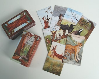 The Badgers Forest Tarot - Animal Art Tarot Card Deck