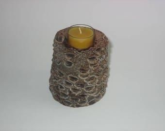 Banksia pod tealight holder