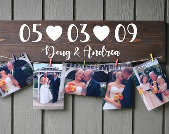 Picture Board, Custom Photo Board, Custom Photo Display, Photo Board, Wedding Photo Board, Wedding Picture Display
