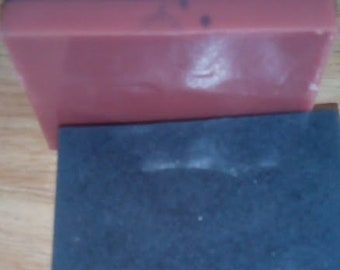 Activated Charcoal and Rose Clay soap
