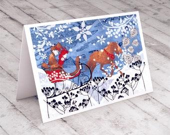 Christmas card... Merry Christmas card