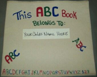 Personized Childrens ABC book