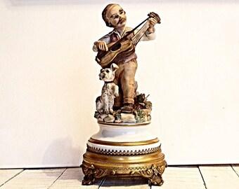 Capodimonte porcelain figure, Gift, Italian porcelain, Hand maiden figurine, Art, Colections porcelain