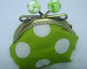 purse retro clasp with fake candy ball