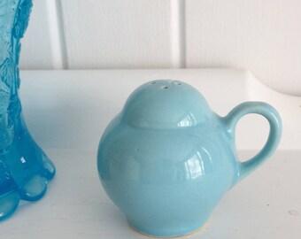 Vintage Blue Hall Salt Shaker