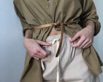 Vintage Poplin Button Up Blouse Jacket