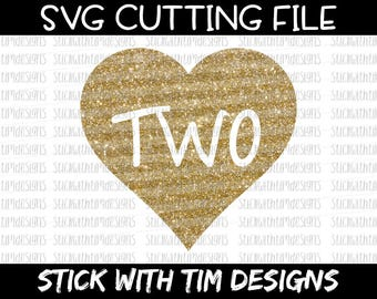 Two Birthday Svg Birthday Svg Second Birthday Cut File svg files PNG Files svg files for Silhouette Cameo svg files for Cricut SVG Designs