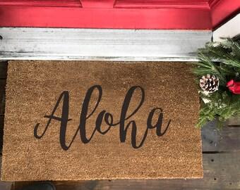 Front Doormat (Aloha)