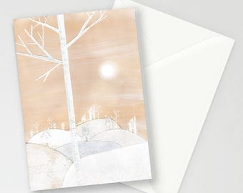 Snowville A6 Greetings Card