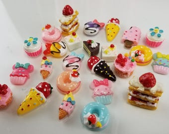 DESSERT Slime CHARMS - MIXED (25)