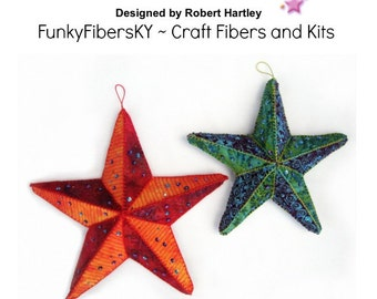 Seeing Stars 3D Star Ornament Instructional PDF by Robert Hartley