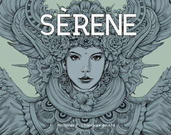 Serene (SIGNED) - Coloring Book by Nicholas Filbert Chandrawienata