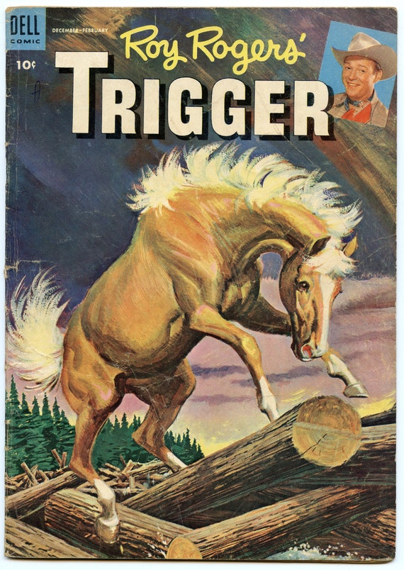 Roy Rogers' Trigger 15 Feb 1955 VG- (3.5)