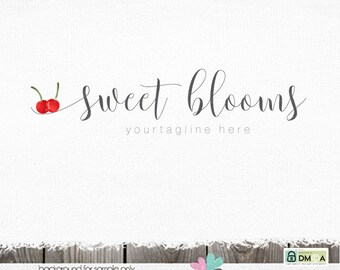 logo design photography logo premade logos cherry logo Photography Logos and watermarks premade logo designs photographer logos Sewing Logos