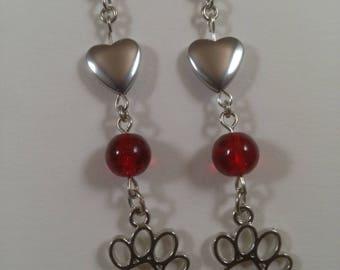 Love my Dog earrings