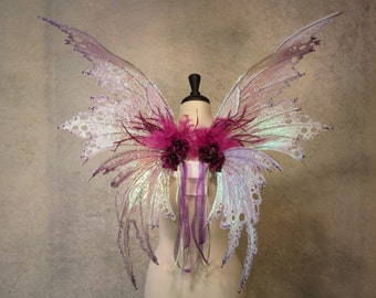 Made to Order - Adult Iridescent Double Panel Fairy Wings