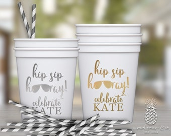 Birthday Cups | Customizable Party Favor Cups | social graces and Co
