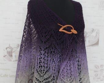 Knit shawl hand knit shawl tomas wool present  gift  kauni beads knit lace shawl hand knitting knit shawls colorful shawl handmade shawl