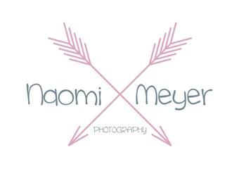 Photography logo, premade logo design