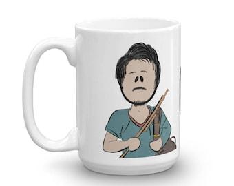 Glenn, The Walking Dead, TWD Character Coffee Mug
