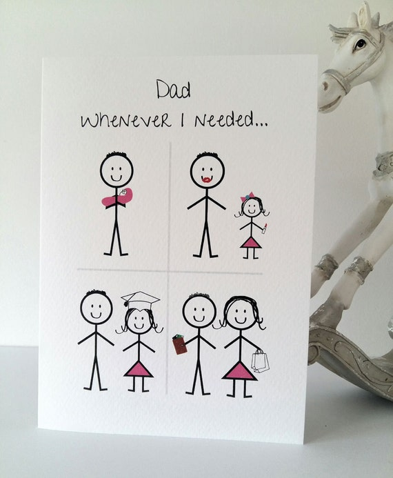 Perfect Happy Birthday Dad From Daughter Card Daddy KE11