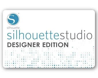 LOWEST PRICE Silhouette Studio Designer Edition Digital Upgrade Lowest Price 49.99 Value - Emailed - Ships World Wide