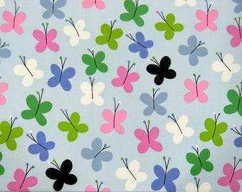 GRIFFITH BUTTERFLY, Alexander Henry, 100% Cotton Quilting Fabric Apparel, Fabric by the Yard