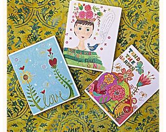 Garden Gift Set Notecards