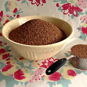Crushed Walnut Shells for Pincushion Filling - 10 Cups Weighing Nearly 4 Pounds - Medium Grind from Curry Bungalow - Exfolliant