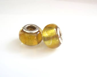 Snake chain glass bead