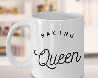 Baking Mug - Gift for Baker - Baking Queen Mug