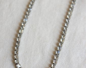 Rhinestone choker vintage choker vintage necklace vintage rhinestone choker vintage rhinestone necklace from The Jeweler's Wife