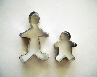 Gingerbread Cookie Cutter Pair Medium and Small