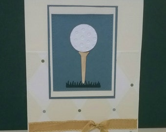 Golfer's Card