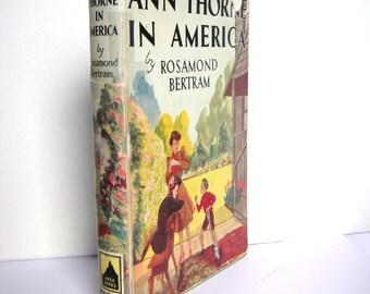 ANN THORNE in AMERICA Rosamond Bertram c.1950s