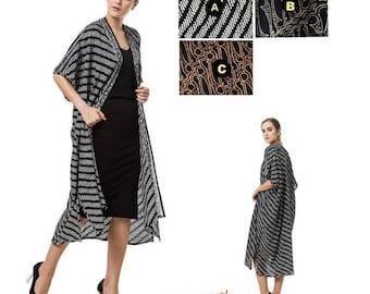KIMONO. Kimono Robe. Festival Clothes. Boho Kimono Jacket. Plus size Kimono Boho Cardigan. Hippie Clothes -Kimmie Batik clothes Indonesia