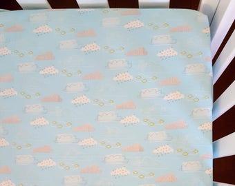Fitted crib sheet, nursery bedding, baby bedding, baby sheet, cot sheet, crib sheet, fitted cot sheet, toddler sheet, nursery sheet