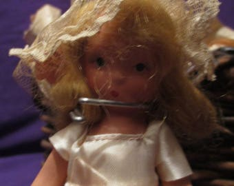 SALE/Abri storybook doll miniature doll one of the seven sisters dolls