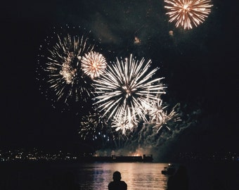 Fireworks in Vancouver, BC