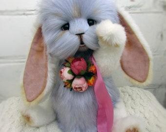 April, rabbit, Teddy Bear, handmade