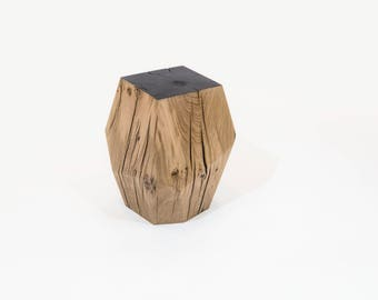 Table Stool in solid oak