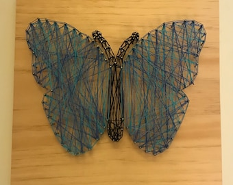 String Art Butterfly
