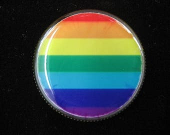 "Resin ring pop ""Rainbow"""