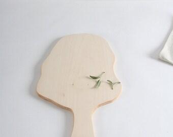 Wooden board maple