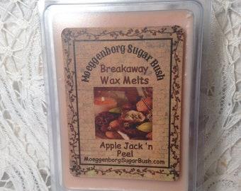 Wax Melts, Apple Jack, orange peel, wax tart melts, clamshell tarts, teacher gift, Moeggenborg Sugar Bush, Apple Wax Melts, candle melts