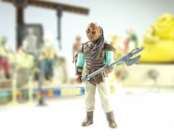 Weequay Star Wars Action Figure 1983 The Return Of The Jedi